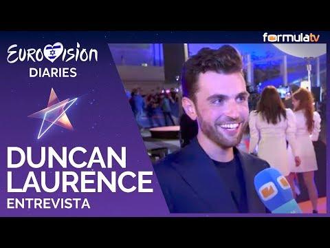 """Duncan Laurence: """"El piano que llevo a Eurovisión lo tocó Elton John"""" - Países Bajos"""