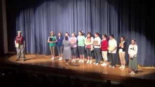 Wellston High School Grease 2013 Rydell Opener
