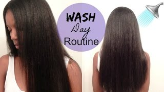How to Wash A Sew In