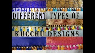 Saree Pallu Kuchu - tassels for saree pallu- saree pallu kuchu designs and saree tassels