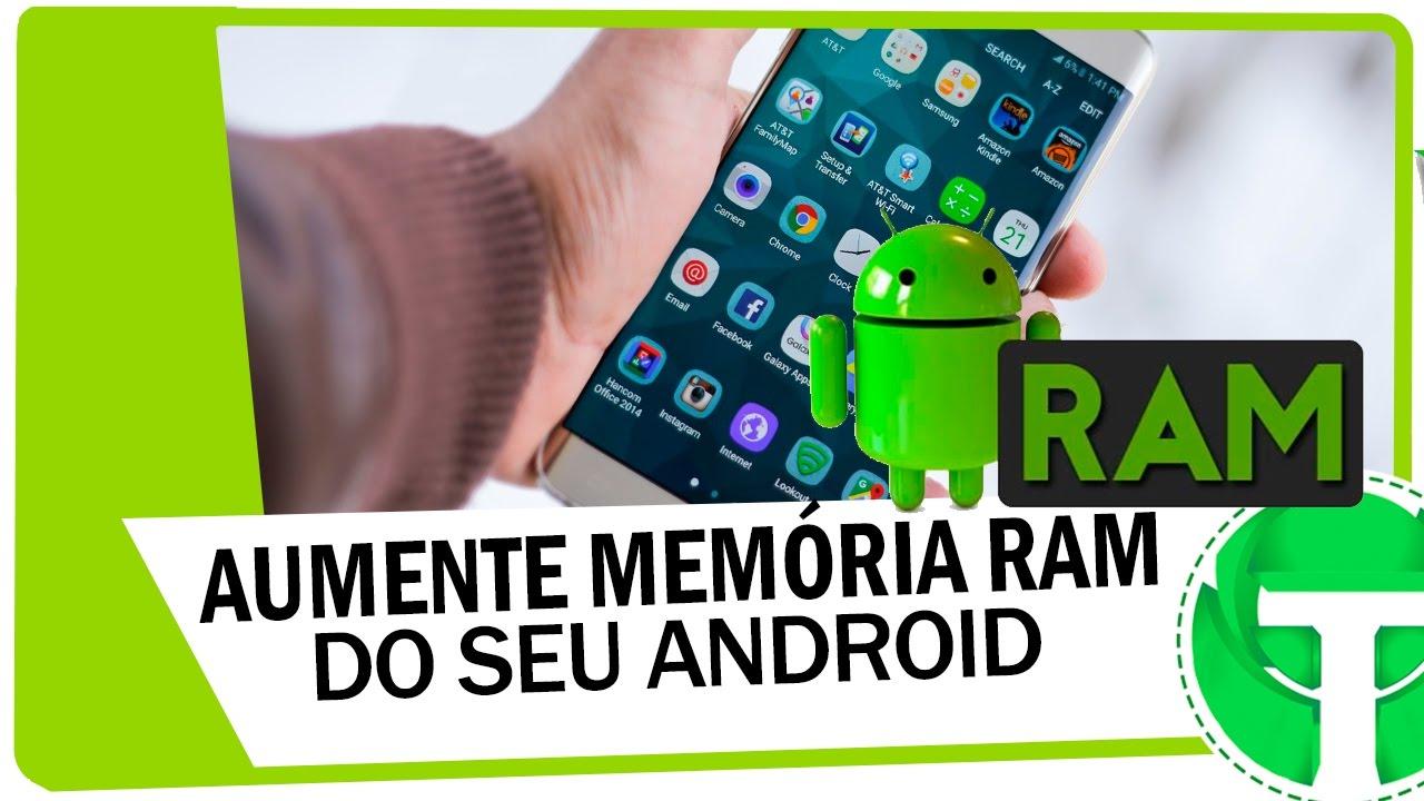 Como Aumentar Memoria Ram Do Android Em Ate 2gb Youtube