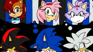Sonic Shadow And Silver Just A Dream