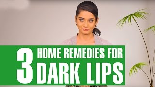 3 Simple Home Remedies To Get Rid Of Dark Lips Naturally - StylecrazeTv
