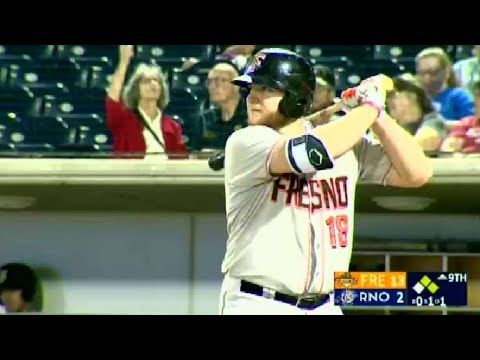 Fresno's Reed belts three-run blast