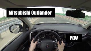 2016 Mitsubishi Outlander 2.0 CVT POV Test Drive