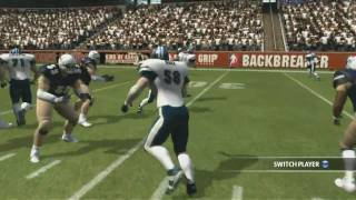 Behind the scenes Backbreaker football HD official video game trailer Xbox PS3