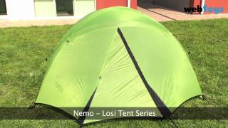 Nemo Losi Tents - Stability, headspace and 3 season comfort tent series
