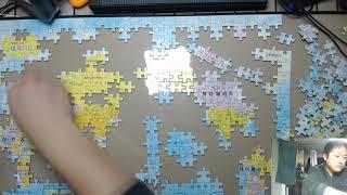 [타임랩스][직소퍼즐] 어린이 세계 풍물 지리 백과(5…