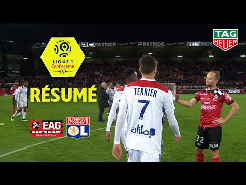 EA Guingamp - Olympique Lyonnais ( 2-4 ) - Résumé - (EAG - OL) / 2018-19