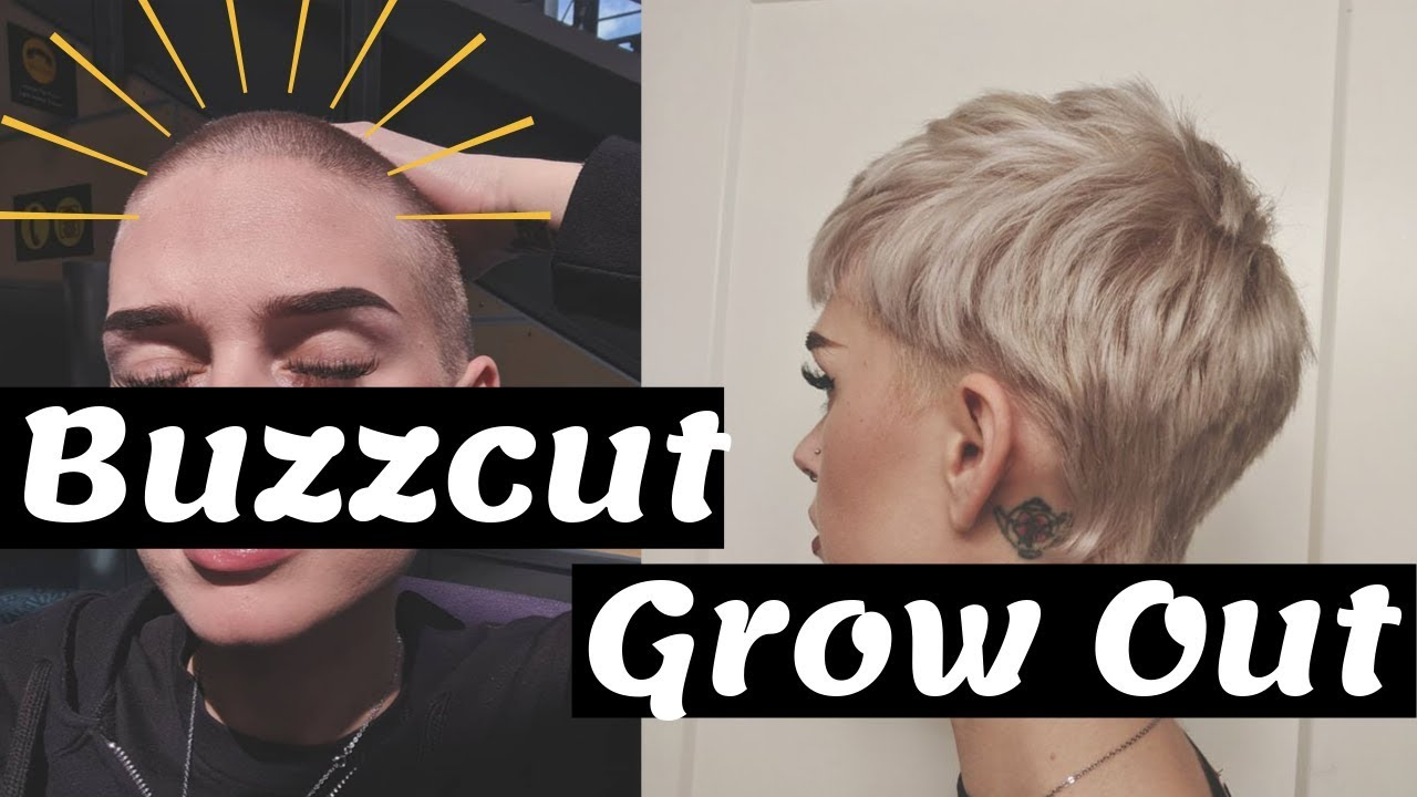 Growing Out My BUZZ CUT  11 Year Update w Photos