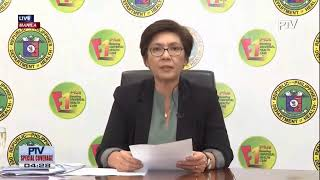 wATCH: DOH issues updates on #COVID19PH | March 20, 2020