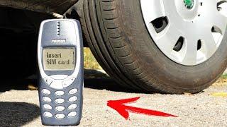 EXPERIMENT: CAR VS NOKIA 3310