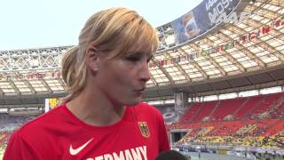 Moscow 2013 - Nadine MULLER GER - Discus Throw  Women - Qual B