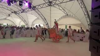 Античное шоу Спарта, греческое шоу, гладиаторы
