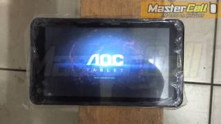 hard reset tablet aoc d70j10