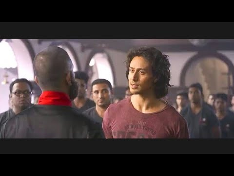 Tiger Shroff wonderful scene video Before...