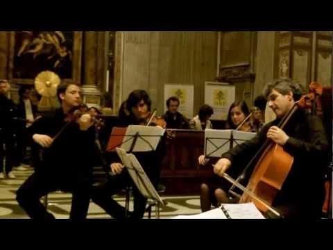 Franz Schubert, An die Musik op. 88 n. 4 - Archi di Roma - Valeriano Taddeo