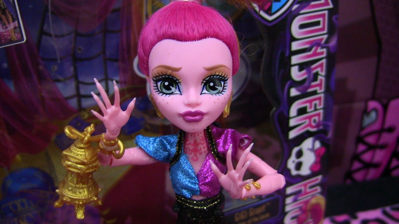 Monster High GiGi Grant 13 Wishes Review Video  D  YouTube