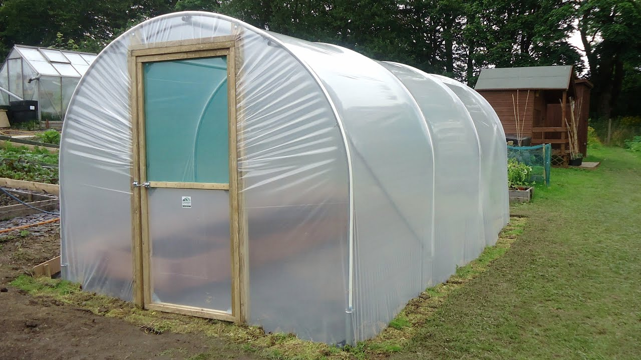 How To Build A Polytunnel Polytunnel Construction Youtube