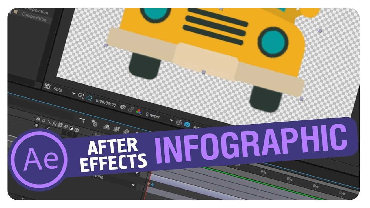 After Effects Infographic Tutorial (PART2) - YouTube