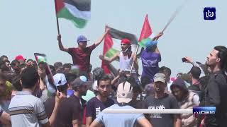 إصابات برصاص الاحتلال خلال الجمعة السبعين لمسيرات العودة - (16-8-2019)