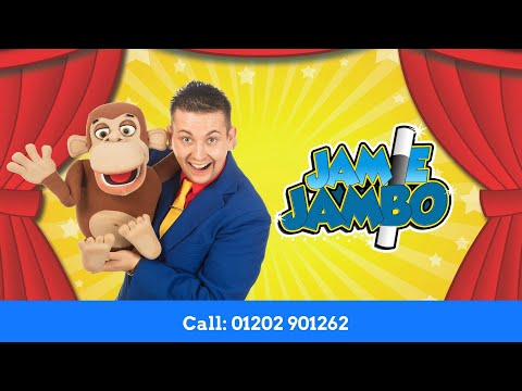 Childrens Entertainers in London - Jamie Jambo