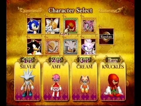 Sonic And The Secret Rings Multiplayer