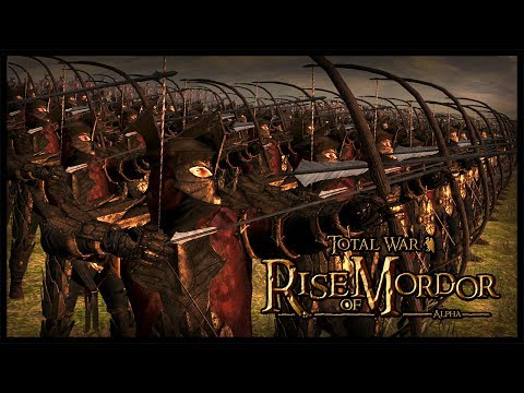 New Rise Of Mordor Units - Lord Of The Ring | Rise Of Mordor Total war