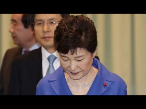 South Korea's president Park Geun-hye impeached