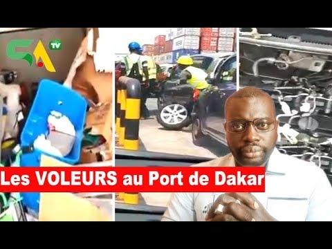 Les Voleurs au port de Dakar: Seydina accuse les autorités de complices