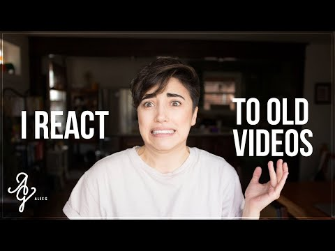I React To Old Videos! | Alex G