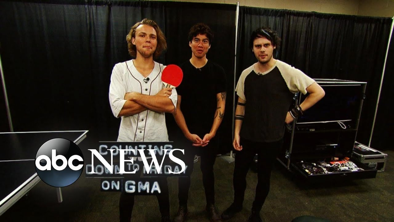 Guys Of 5 Seconds Of Summer Backstage Pass Youtube