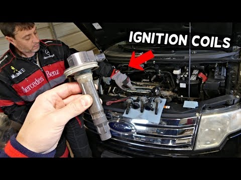 FORD EDGE IGNITION COIL COILS REPLACEMENT 3.5 3.7 | Lincoln MKX