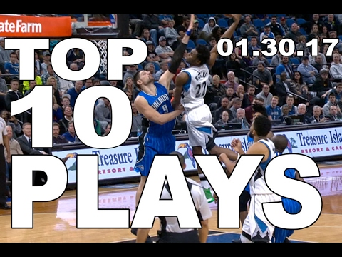 Veja o video – Top 10 NBA Plays of the Night: 01.30.17