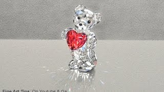 How to Draw a Crystal Bear - Swarovski - Best Mother