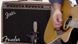 Fender Acoustasonic™ 90 Amplifier | In-Depth Look | Fender