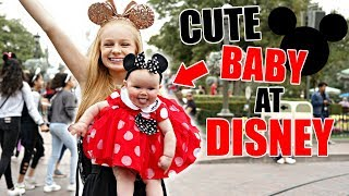 TAKING OUR BABY SISTER TO DISNEY LAND! 😍