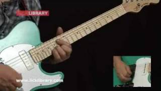 Chuck Berry Guitar Lessons | Quick Licks DVD With Steve Trovato Licklibrary