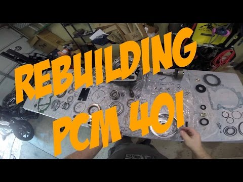 MaksWerks Garage - DIY Step By Step Rebuilding a PCM 40i Boat Transmission