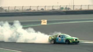 Saudi Arabia Pro Drifting Team Al Jazirah Ford - UAE Drift Round 5 2013
