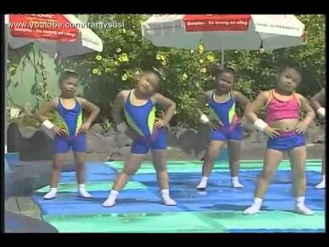 Nhac Thieu Nhi Aerobic Thieu Nhi Cung Tap Aerobic Bai Nang Som   YouTube