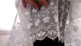 Video Rosalia's Sheer Eyelet Lace Half Slip download MP3, 3GP, MP4, WEBM, AVI, FLV Juni 2018
