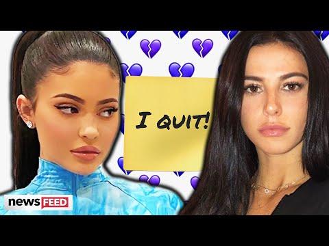 Kylie Jenner's Assistant, Victoria Villarroel, QUITS!