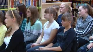 27 сентября в  библиотеке состоялось открытие молодежного клуба «Перекресток».