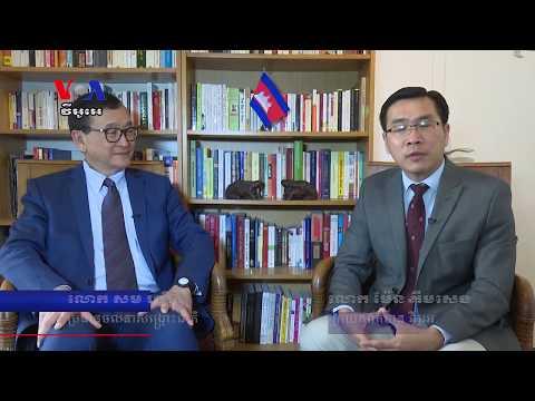 Mr. Sam Rainsy's Optimistic After Visiting Japan and Indonesia