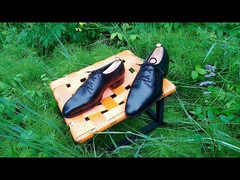 """Пошив обуви. Обувь ручной работы. """"Оксфорды""""."""