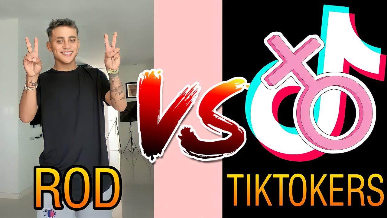 Rod Contreras VS Tiktokers Mujeres - Batalla De TikTok 💥🔥