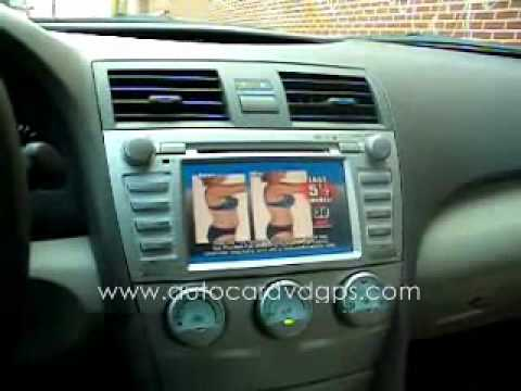1 toyota camry 2007 2008 2009 2010 2011 navigation gps radio youtube. Black Bedroom Furniture Sets. Home Design Ideas