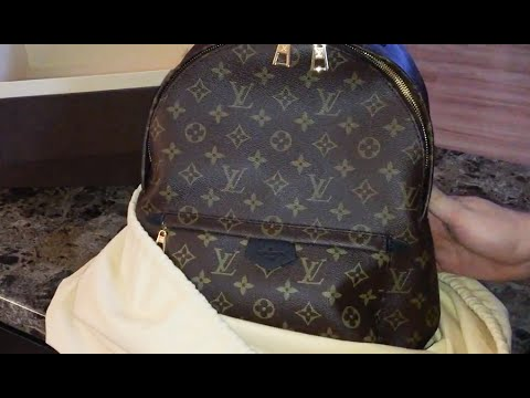 31dc8bafb296 Louis Vuitton Unboxing - Palm Springs Backpack MM - YouTube