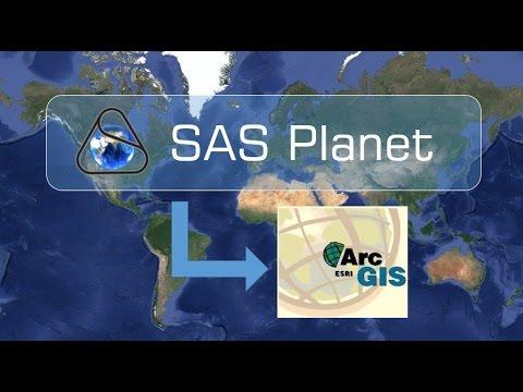 Descargar imágenes satelitales por SAS Planet a ArcGis